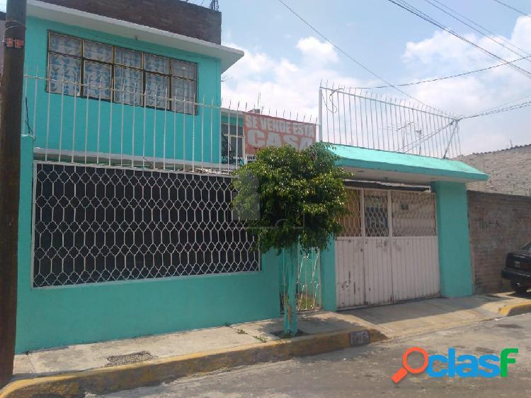Casa sola en venta en reforma política, iztapalapa, distrito federal