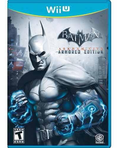 Batman arkham city armoured edition wii u nuevo