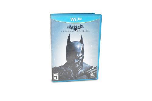Batman arkham city wii u nintendo videojuego en caja manuale