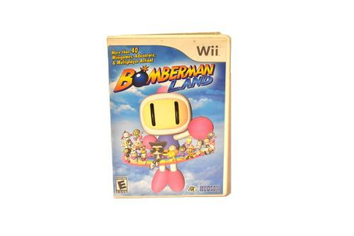 Bomberman land wii mas 40 mini juegos coleccion