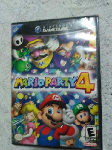 Gamecube mario party 4 sin manual