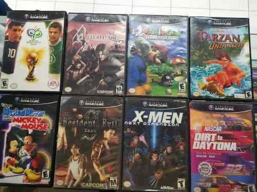 Juegos gamecube diferentes precios