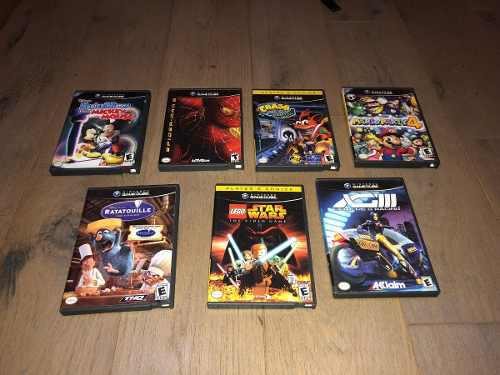 Juegos gamecube varios