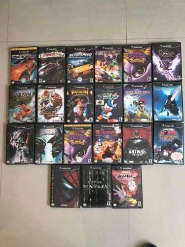 Lote juegos de nintendo game cube originales
