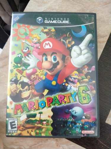 Mario party 6 gamecube o wii