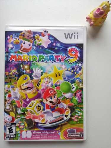 Mario party 9 nintendo wii garantizado