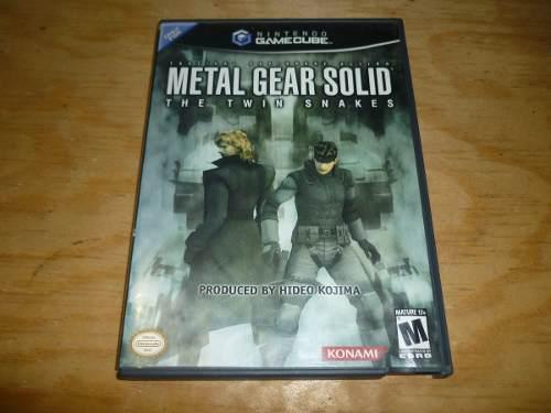Metal gear solid twin snake nintendo game cube