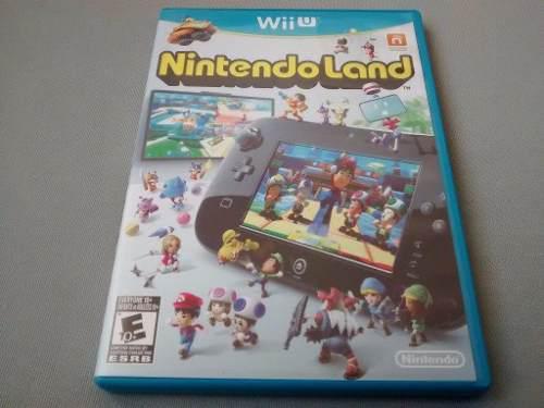 Nintendo land original para nintendo wii u