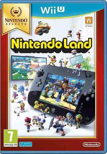 Nintendo land para wii u nuevo y sellado (en d3 gamers)