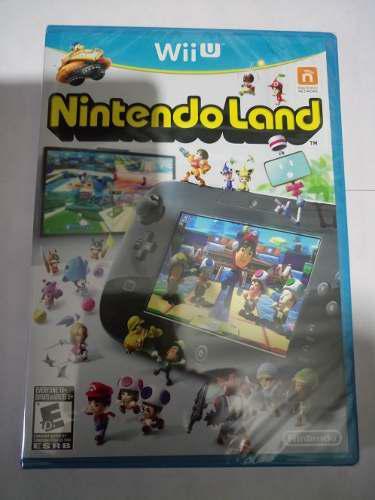 Nintendo land videojuego para wii u nuevo sellado de