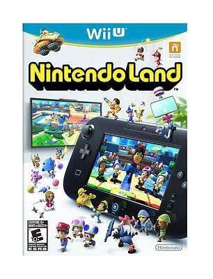 Nintendo land wii u videojuego fisico nuevo sellado