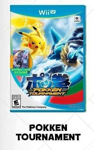 Pokken tournament wii u juegos digitales