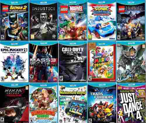 Wii u juegos mario bros, call of duty