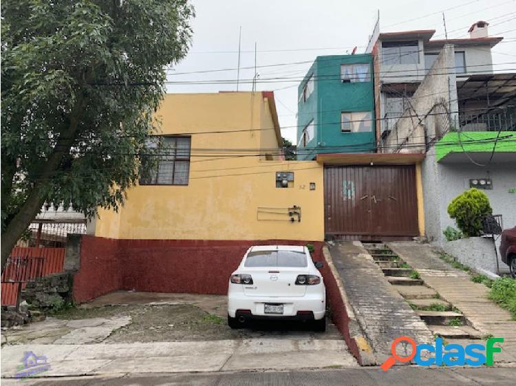 Casa para remodelar en venta, totoltepec naucalpan