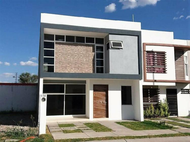 Casa nueva en venta con recámara en planta baja cerca de
