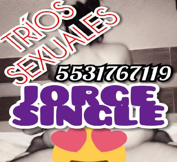 JORGE, HOMBRE PARA TRÍOS SEXUALES EN LOS REYES