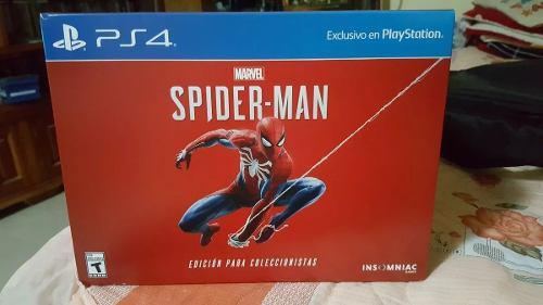 Marvel spiderman no consola juego ps4 collectors edition