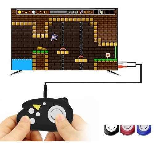 Mini consola videojuesos retro 8-bit 89 juegos integrados