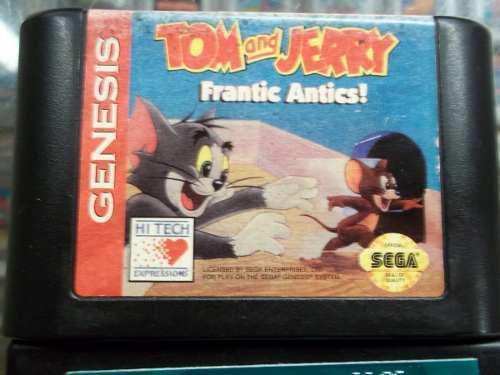 Tom and jerry frantic antics sega genesis