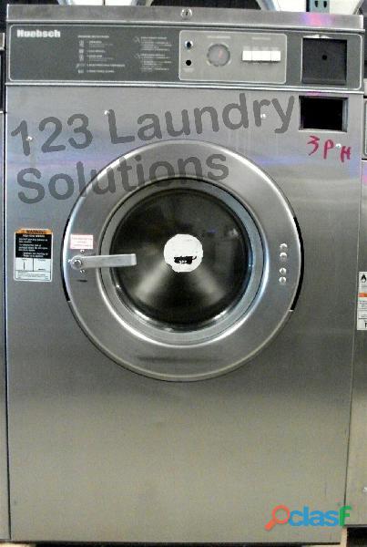 Huebsch lavadora de carga frontal comercial hc35md2ou20001 usada