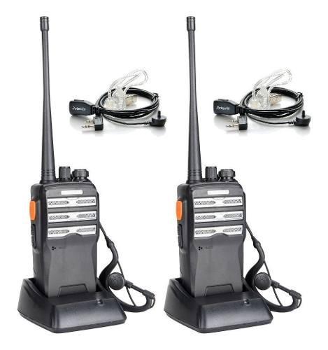 2 radio baofeng bf-230 pro uhf + 2 chicharo acustico