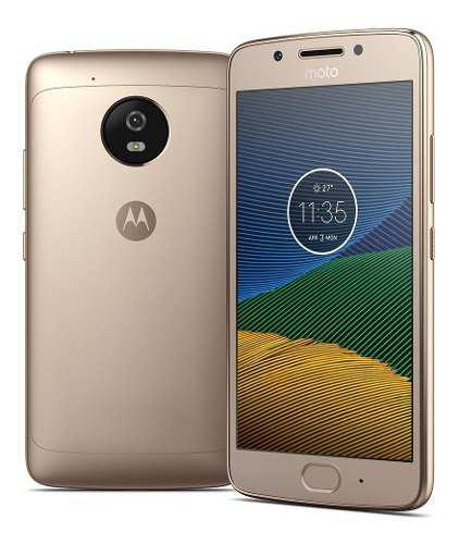 Moto g5 plus dorado movi 4g lte 32gb + turbo oferta