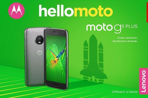 Moto G5 Plus Nuevo 32gb 3gb Ram Octa Core 4g Lte $2,900