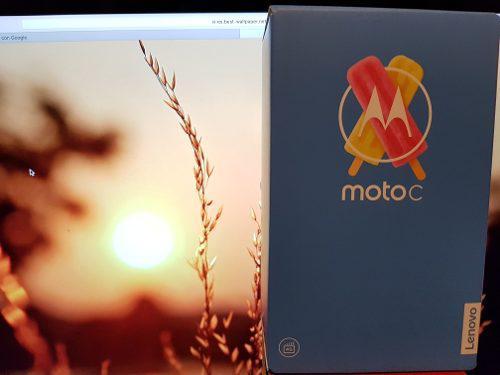 Motorola moto c 4g android 7.0 8gb
