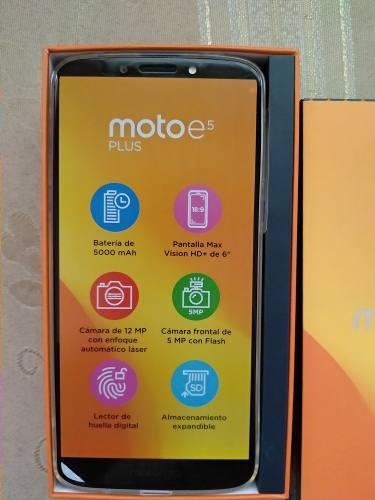 Motorola moto e5 plus xt1924-4 2gb ram 16gb huella gris