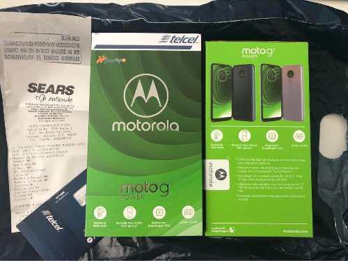 Motorola moto g 7 power nuevo