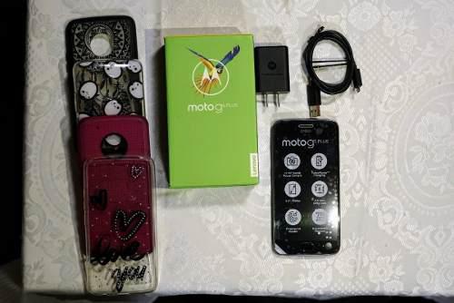 Motorola moto g5 plus 32gb caja + accesorios originales.