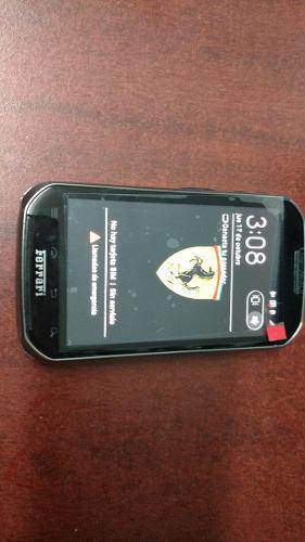 Motorola xt621 libre usado $1499. edicion ferrari. negro.