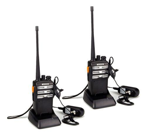 Par (2) radio portatil baofeng bf-230 pro uhf *envio gratis*