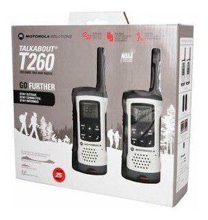 Radio motorola walkie talkie t260 blancos buen alcance