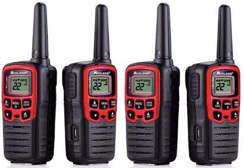 Radios de dos vias midland comunicacion manos libres de rega