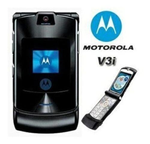 Telefono motorola v3i nuevo (sin caja) incluye 2 regalos