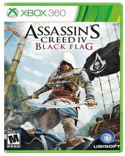 Assassins creed 4 iv black flag xbox 360 nuevo sellado juego