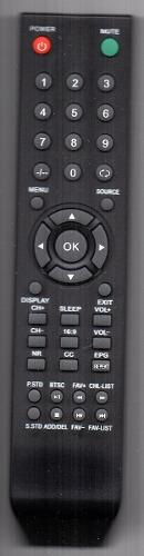 Control Atvio Para Tv Modelo Mtv2612lcd