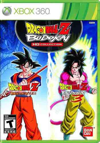 Dragon ball z budokai hd collection xbox 360 nuevo