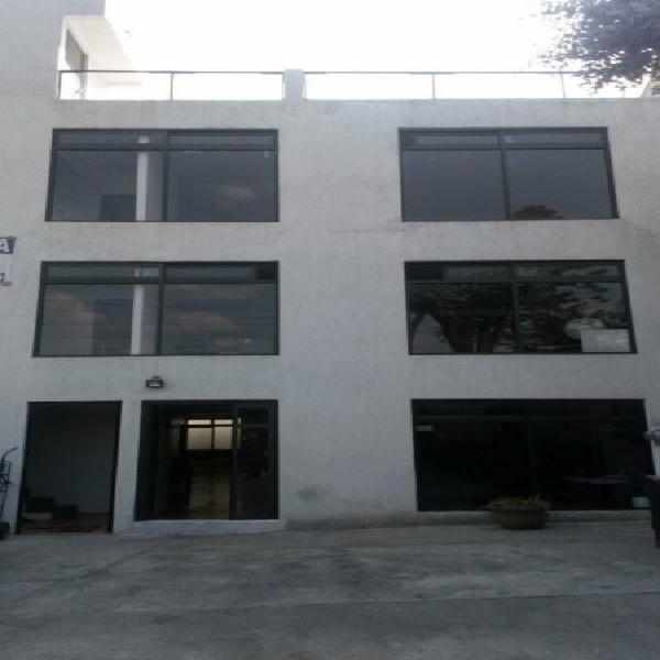 Edificio nuevo en venta o renta (3er. nivel o completo),