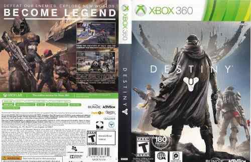 Juego destiny xbox 360 usado original