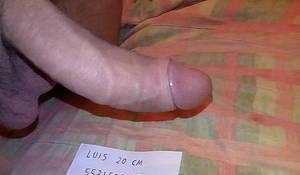 LUIS 20 CM DE PENE 5531588089 VOY A HOTEL Y DOMICILIO