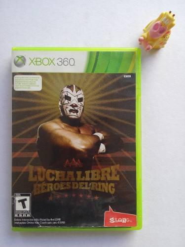 Lucha libre aaa héroes del ring xbox 360 garantizado:)