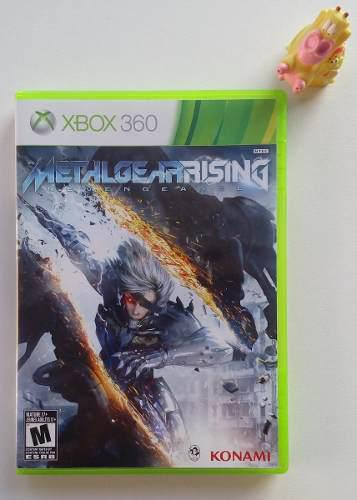Metal gear rising revengeance xbox 360 juego garantizado!!