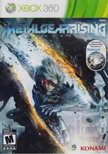Metal gear rising revengeance xbox 360 juego nuevo en karzov