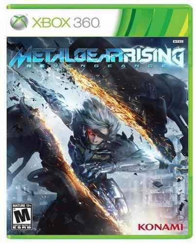 Metal gear rising revengeance xbox 360 nuevo y sellado juego