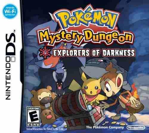 Pokemon mystery dungeon exploradores de la oscuridad