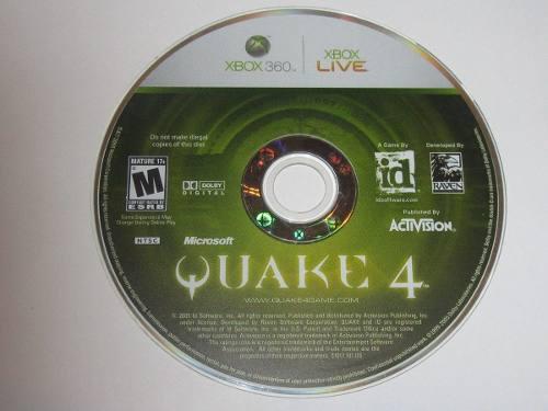 Quake 4 para xbox 360 usado blakhelmet c en México