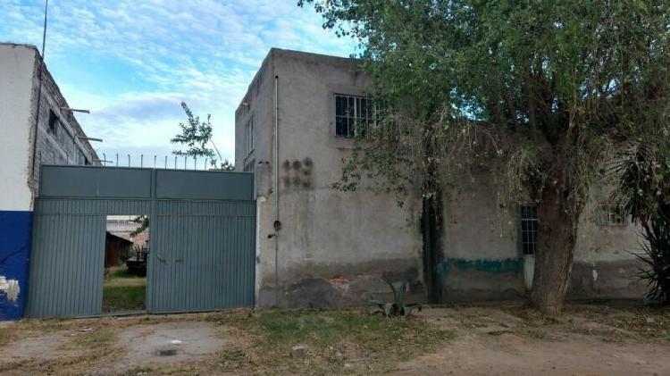 Terreno 1,050 m2 bardeado - con oficina (terreno en renta en