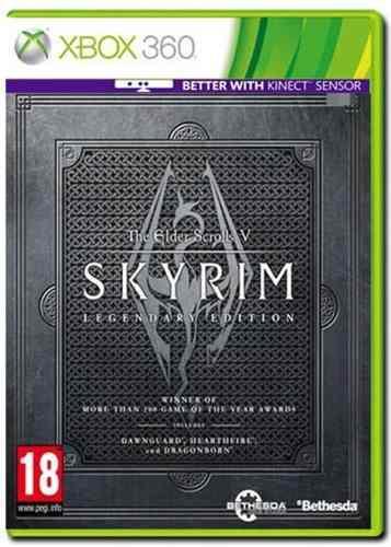The elder scrolls v skyrim legendary edition xbox 360